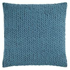 Buy John Lewis Rhythm Cushion, Teal Online at johnlewis.com