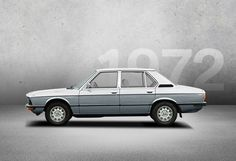 1972 - BMW 5 SERIES - In 1972, the first BMW 5 Series makes its debut and, with it, the new model name. It becomes a synonym for unrivalled driving pleasure in the mid-size executive segment and since then has stood for the harmonious balance between driving dynamics and travelling comfort. Photo Credit: BMW