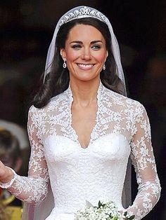 mariage de  Kate Middleton - Dentelle de Calais