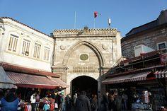 터키 이스탄불의 그랜드바자르. 시장이 몇 백년이 넘었구나..
