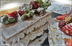 Mille-feuilles gourmand/ fraises/chantilly - Blogdoumaya