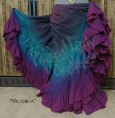 """Victoria"" dyed petticoat 25yd skirt by Painted Lady Clothiers"
