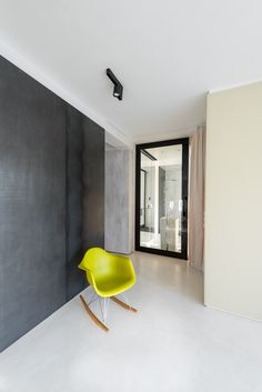 #eames #chair #colour #walldesign #interior #design #Eames #PlasticArmchair #RAR #greywall #designdetail Eames, Wall Design, Interior Design, Chair, Nest Design, Home Interior Design, Interior Designing, Stool, Home Decor