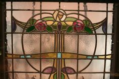 Image 6 of 11 from gallery of Spotlight: Charles Rennie Mackintosh. Stained Glass by Charles Rennie Mackintosh. Image © licensed under CC BY-SA Stained Glass Art, Stained Glass Windows, Charles Rennie Mackintosh Designs, Led Light Design, Glasgow School Of Art, Art And Architecture, Art Nouveau, Tiffany, Antiques