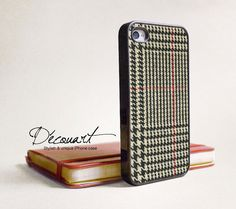 Shoply.com -iPhone 4 case, iPhone 4s case, case for iPhone 4, fabric pattern B077. Only $16.99