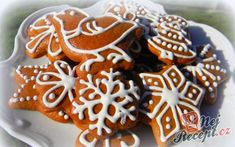 70 z Gingerbread Cookies, Christmas Cookies, Oreo Cupcakes, Yule, Cookie Decorating, Food Hacks, Sweet Recipes, Cookie Recipes, Party Time