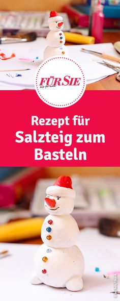 Basteln mit Salzteig Recipe for salt dough for tinkering with children Category: Basteln mit Kindern This image has get Diy Crafts To Do, Crafts For Girls, Diy For Girls, Baby Crafts, Kids Crafts, Kids Girls, Wood Crafts, Paper Crafts, Simple Crafts