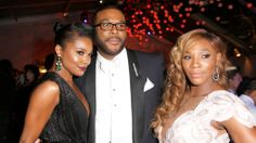 Grabrielle Union, Tyler Perry and Serena Williams