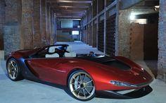 Positive Friday vibe with Ferrari Pininfarina Sergio.