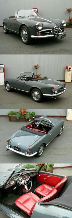 1955 Alfa Romeo Guiletta Spider