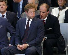 Prince Harry & Ed Lane Fox.