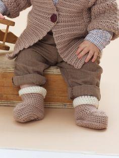 Cuffed Boots   Yarn   Free Knitting Patterns   Crochet Patterns   Yarnspirations