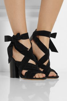 Isabel MarantAmelia suede and leather sandalsoutfit