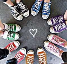 Love colorful shoes