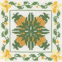 Hawaiian Flowers designs... I have this cross stitch book.