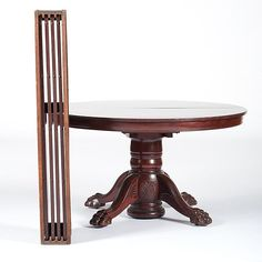 Robert Mitchell Furniture Co. Mahogany Dining Table With Four Leaves, Plus    Price Estimate: $300   $500