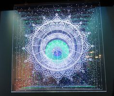 Image for Art Glass Panels Wallpaper Free Desktop