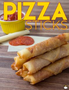 Fried Pizza Sticks