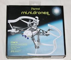 $29.99 FREE SHIPPING - NEW Parrot Mini Drone Mars Airborne Cargo Drone Smartphone Control NIB #Parrot