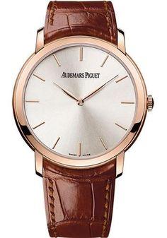 Audemars Piguet - Jules Audemars Extra-Thin Watch 15180OR.OO.A088CR.01