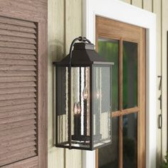 Shop a great selection of Shekar Outdoor Wall Lantern Gracie Oaks. Find new offer and Similar products for Shekar Outdoor Wall Lantern Gracie Oaks. Outdoor Hanging Lanterns, Outdoor Ceiling Fans, Outdoor Sconces, Outdoor Wall Lantern, Outdoor Wall Lighting, Sconce Lighting, Outdoor Walls, Hinkley Lighting, Exterior Lighting