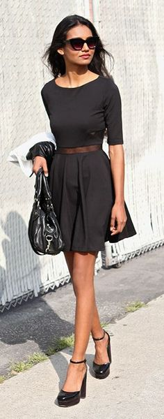 All Black Everything Casual Chic Streetstyle by Tuolomee