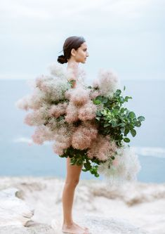 Add a striking look to any room with Luisa Brimble X HAMBLINS Smoke Bush Photographic Print. Printed on heavy weight matt paper using natural dyes, buy now! Modern Wedding Flowers, Floral Wedding, Flowers Nature, Beautiful Flowers, Autumn Flowers, Art Flowers, Dried Flowers, Beach Photography, Flower Photography