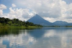 Lake Arenal, Costa Rica. Going here on my Costa Rica Trip.