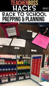 back to school ideas and teacher hacks to set you up for a successful school year #backtoschool #classroomorganization