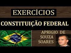 EXERCÍCIOS - CONSTITUIÇÃO FEDERAL - ART. 1º ao 4º