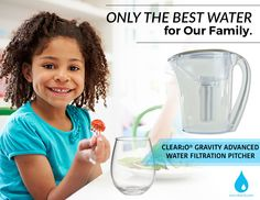 Reduce Chances of Catching Gastrointestinal Disease By Filtering Your Water with Clear2O Gravity Advanced Filtration Water Pitcher. Studies have shown that the removal of the elements giardia and cryptosporidium from drinking water actually reduces the chances of contracting gastrointestinal disease. By filtering your water supply, you create a healthier environment and significantly reduce the chances of having gastrointestinal diseases from affecting your health. Best Water Filter, Water Filter Pitcher, Water Filters, Gastrointestinal Disease, Filtered Water Bottle, Healthy Water, Water Pitchers, Healthy Environment, Water Supply