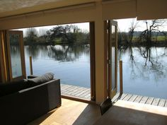houseboat living open windows