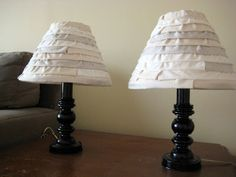 All For This Penny Craft Blog: Anthro Inspired Lamp Shade Tutorial