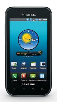 My phone, the Samsung Mezmerize; love it!