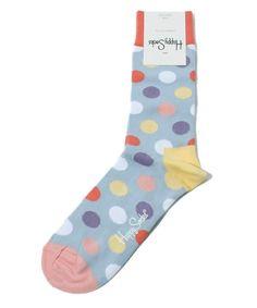 Dots of Happy Socks (Happy Socks) (socks) | Blue Other