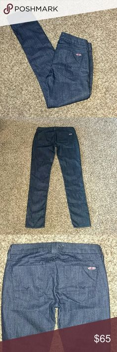"Hudson Krista Skinny Jeans Brand new Hudson Krista Skinny jeans. The have a hint of sparkle in the jeans. Very stretchy. Great to wear for any occasion. Size 26 Inseam 29"" Hudson Jeans Jeans Skinny"