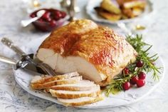 Free-range butter-basted turkey breast joint