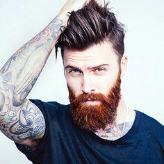 Cute Short and Full Beard Styles for Men (10)