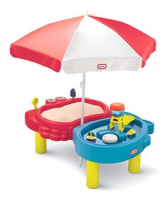 Little Tikes Sand & Sea™ Play Table. It's a sand box and water table in one! Kids will love building castles and having a splashing good time.i sooo need this for my kids! Little Tikes, Sand And Water Table, Water Tables, Sand Play, Water Play, Toddler Toys, Kids Toys, Pool Activities, Play Table