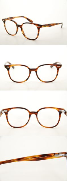 5fc143a5dc Fashion Eyewear Clear Glasses 179244  New Authentic Ray Ban Rb 5299 2144  Havana 53Mm Legends