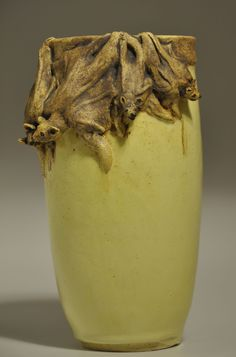 Bat Vase by Stormie Parker