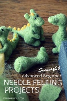 Ready to learn some new advanced needle felting techniques that will bring you to the next level of needle felting. Great needle felting tips and projects!