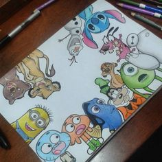 Doodle art 809451733014409205 - Disney Art Ideas Diy Awesome 45 Ideas For 2019 Source by Disney Character Drawings, Disney Drawings Sketches, Cute Disney Drawings, Cute Drawings, Drawing Sketches, Drawing Ideas, Drawing Disney, Character Sketches, Disney Characters To Draw