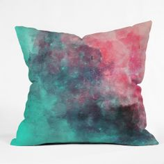 Allyson Johnson Cotton Candy Outdoor Throw Pillow | DENY Designs Home Accessories