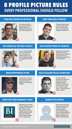 8 profile picture rules every professional should follow