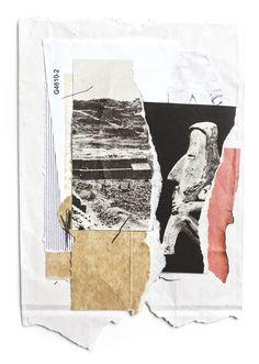 El Buen Ayre - Kike Besada - Collected / found / sidewalk trash collage