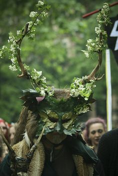 Green Man - taken at the Beltane bash, Russell square London