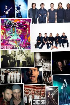 Maroon 5 FOREVER ♡ They are the most AMAZING band I have ever heard. They are genuine and have real talent, unlike many of the bands forming today. They have inspired much of my songwriting and inspired me to pick up the guitar.