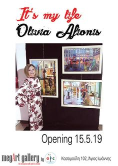 """It""""s my life /Oliva Afionis Personal art exhibition Gallery - KoitaMagazine My Life, Photo Wall, Gallery, Artwork, Facebook, Lady, Photography, Work Of Art, Roof Rack"""