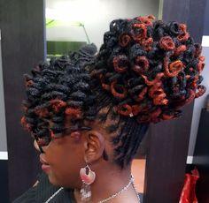 Most Popular Dreadlocks Hairstyles For Women 43 Dreadlock Hairstyles, African Hairstyles, Girl Hairstyles, Hairstyles Pictures, Braided Hairstyles, Natural Hair Care, Natural Hair Styles, Long Hair Styles, Dreadlocks